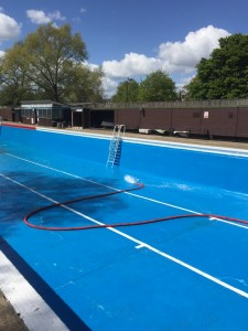Jesus Green Pool filling starts