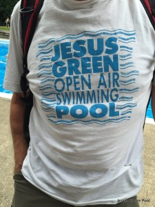 Historic Jesus Green Pool Tee shirt