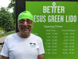 Geoff Jones at Jesus Green