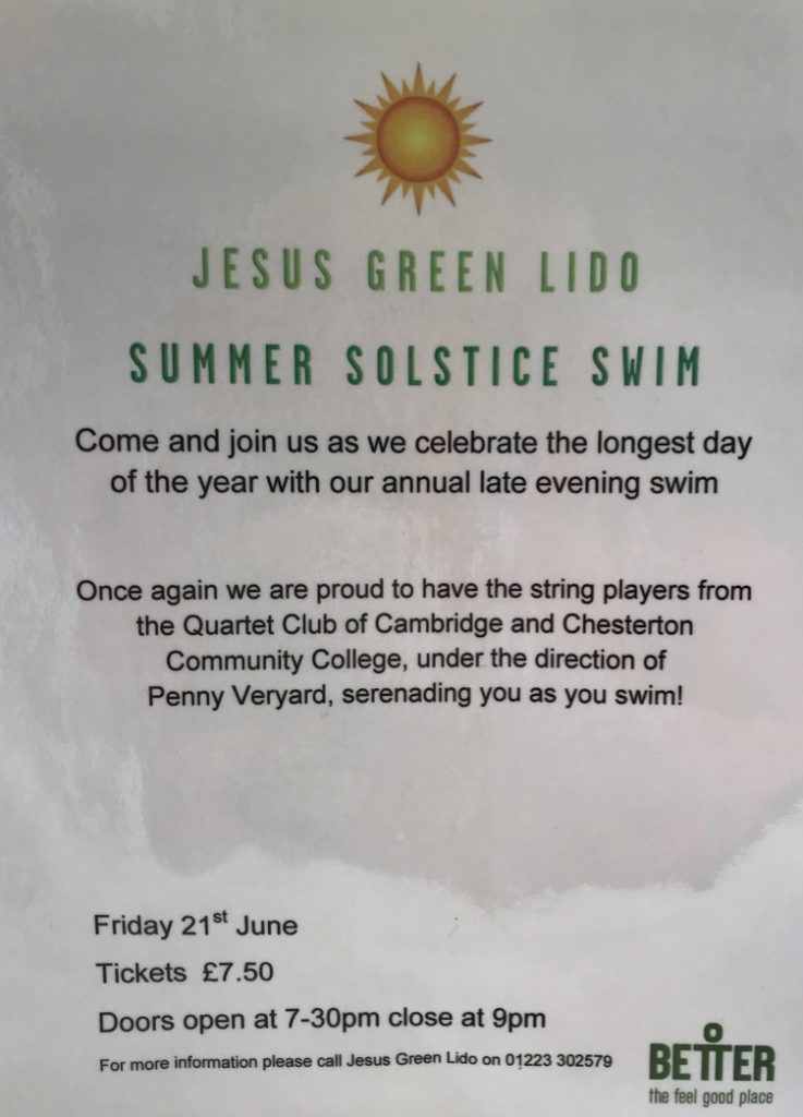 Summer Solstice Event